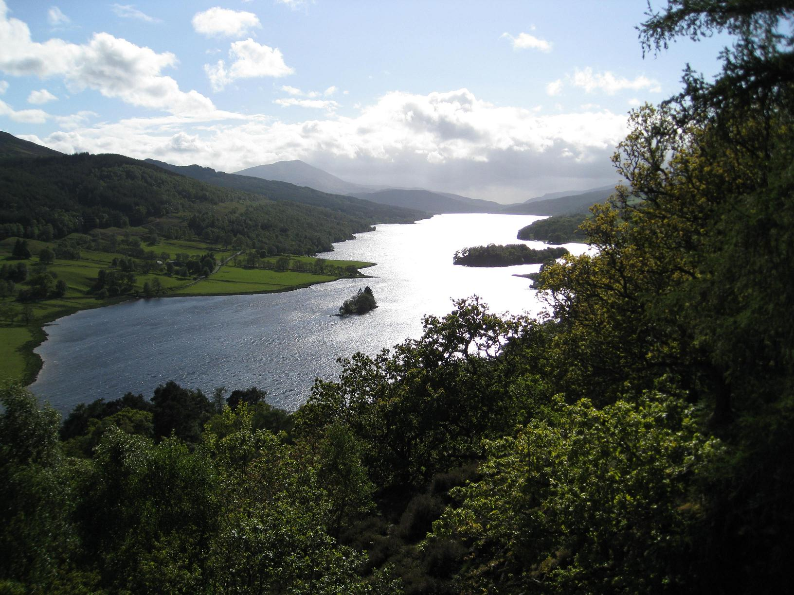 Queens Vieuw Loch Tummel
